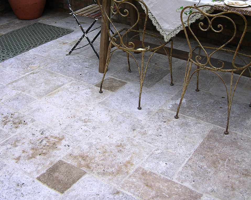 SQ Travertine Antiqued Warm Walnut 3