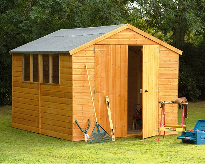 Garden Sheds Jersey Channel Islands sheds | pentagon jersey